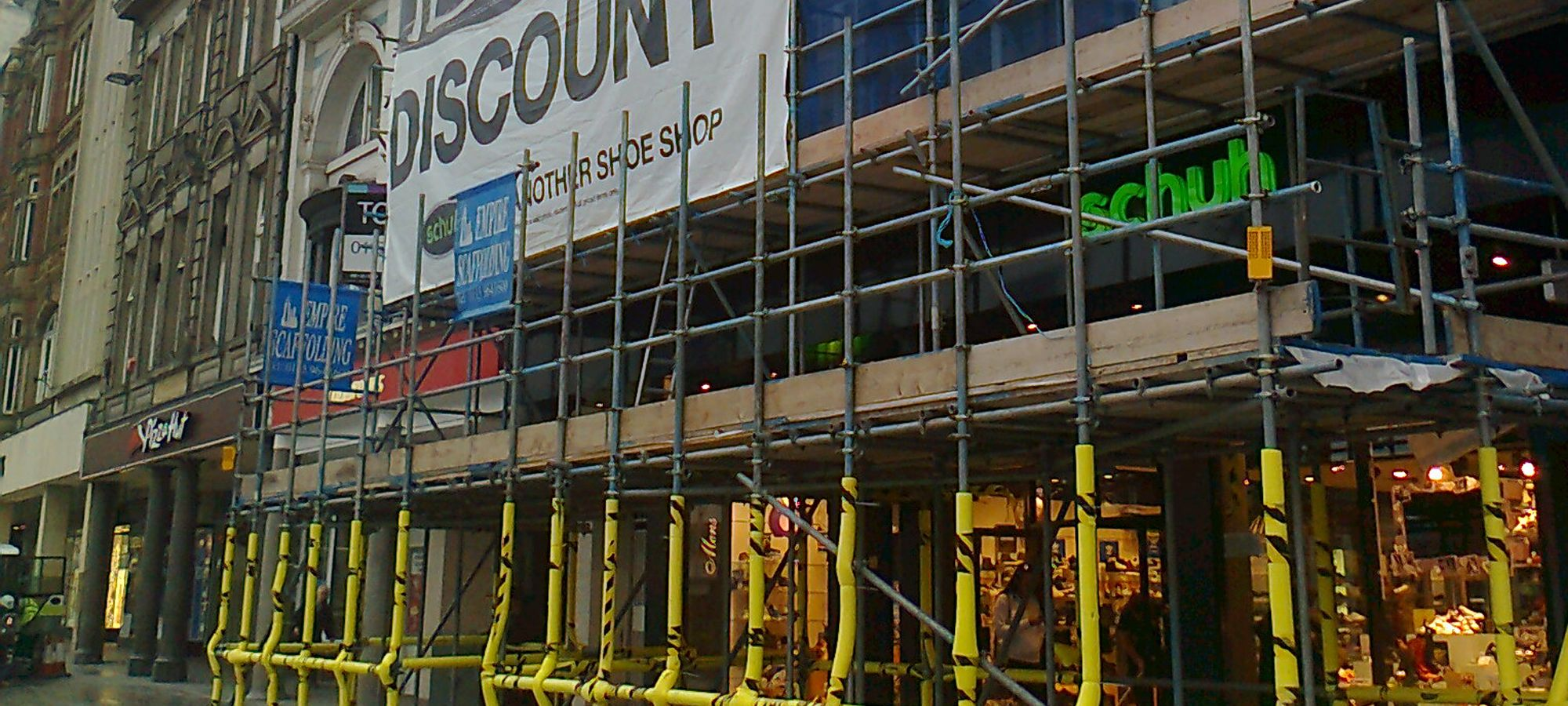Domestic scaffolding
